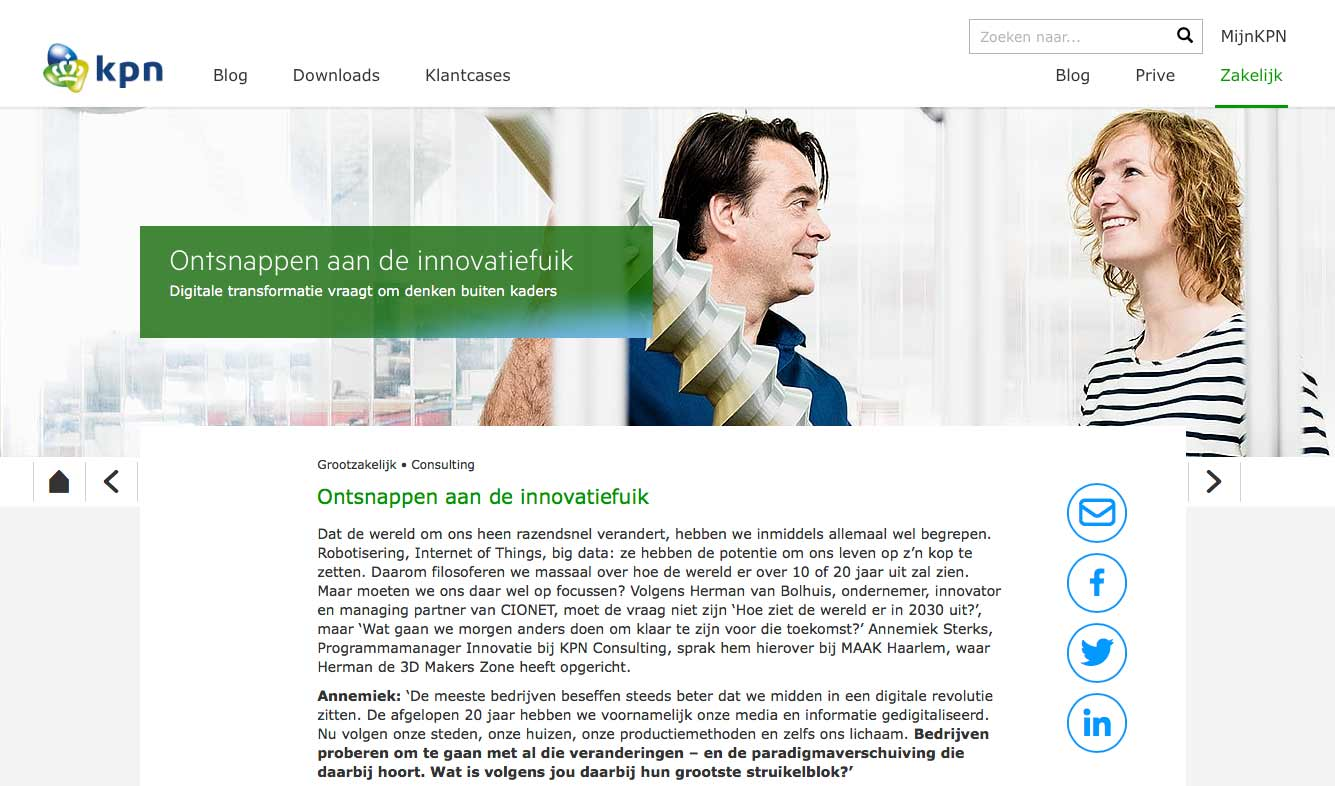 KPN-website